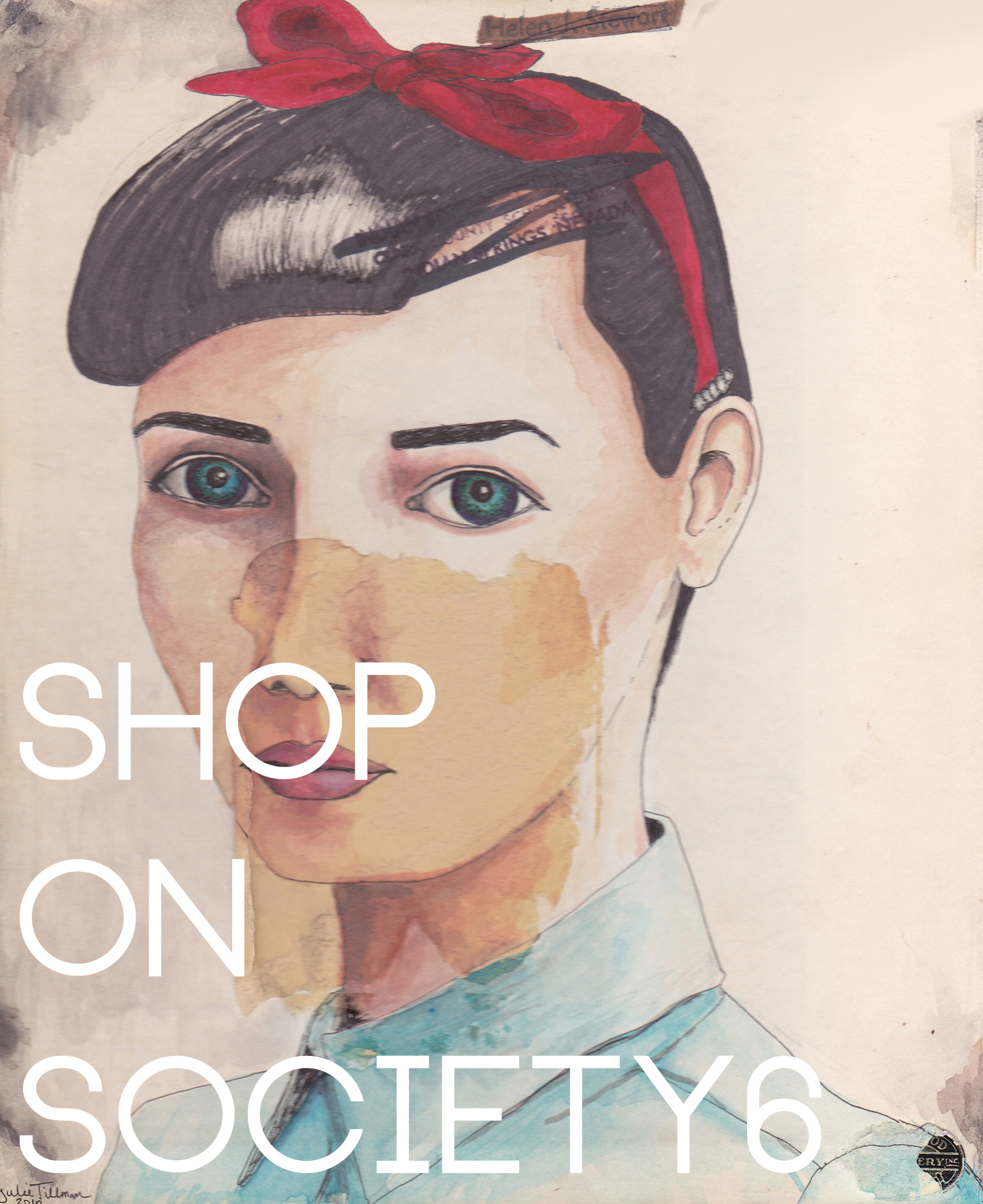 Shop prints and products by Jules Tillman on Society6