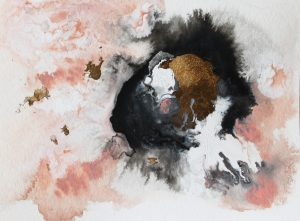 abstract painting by Jules Tillman
