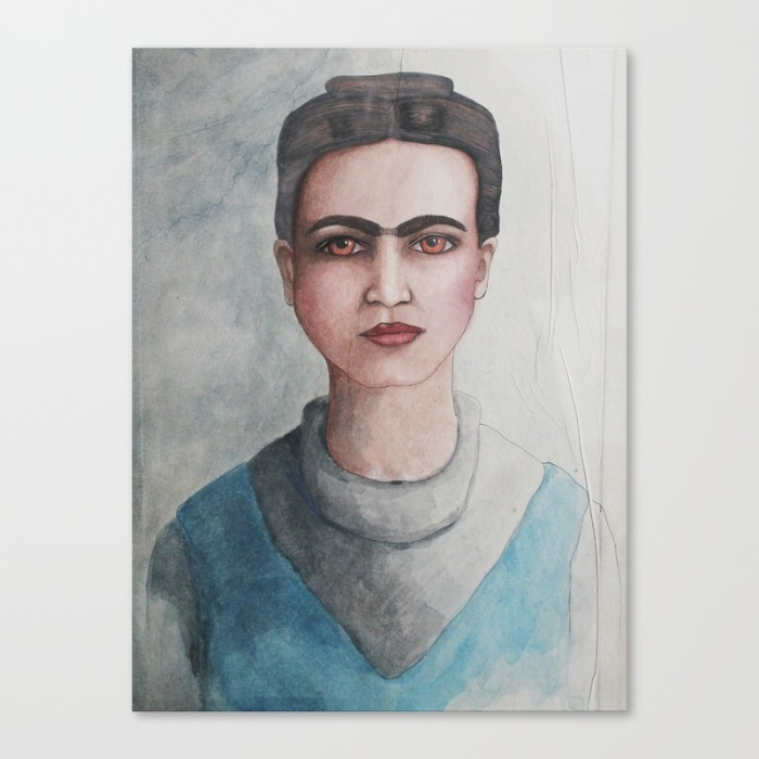 Frida by Jules Tillman | printed on canvas (Free worldwide shipping!)