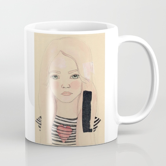 Stacy Mug by Jules Tillman (Free worldwide shipping!)