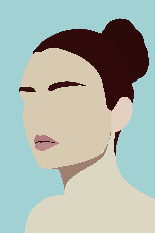Amelia by Jules Tillman, 2016 Digital Painting