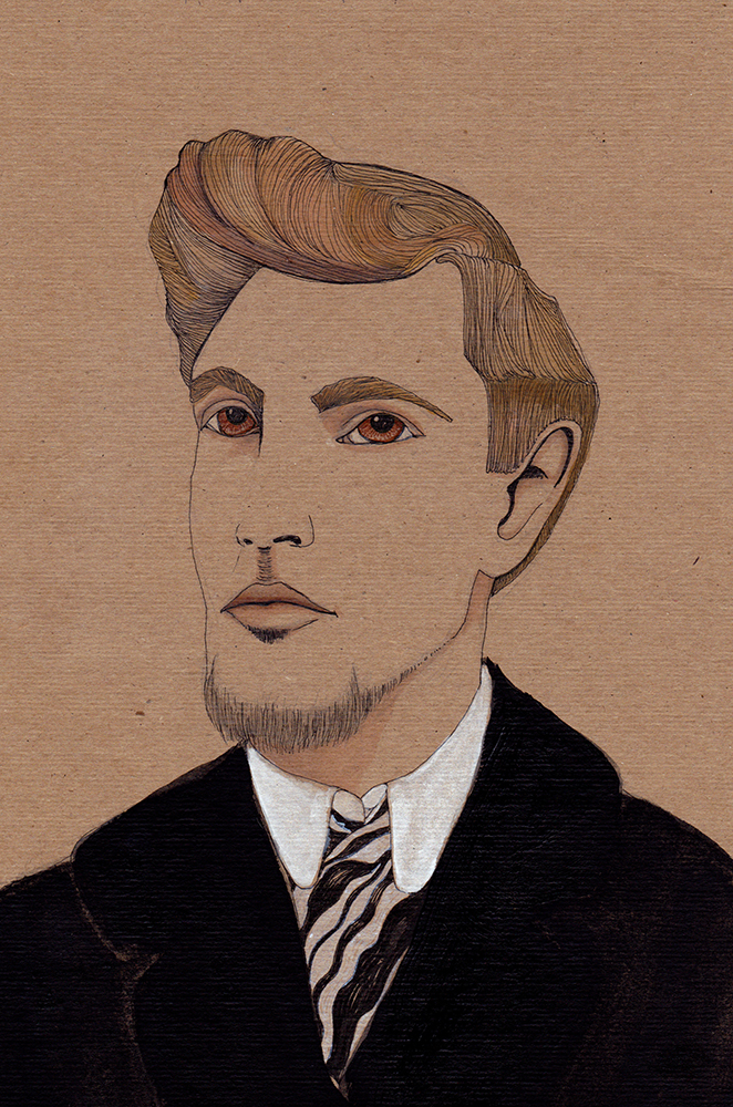 Amedeo Modigliani by Jules Tillman, 2011