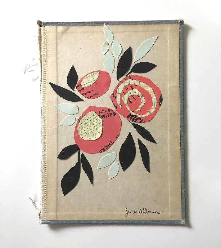 Day 3 of 30 Days of Skillshare classes: Art Collage : Create a Beautiful Paper Rose Bouquet